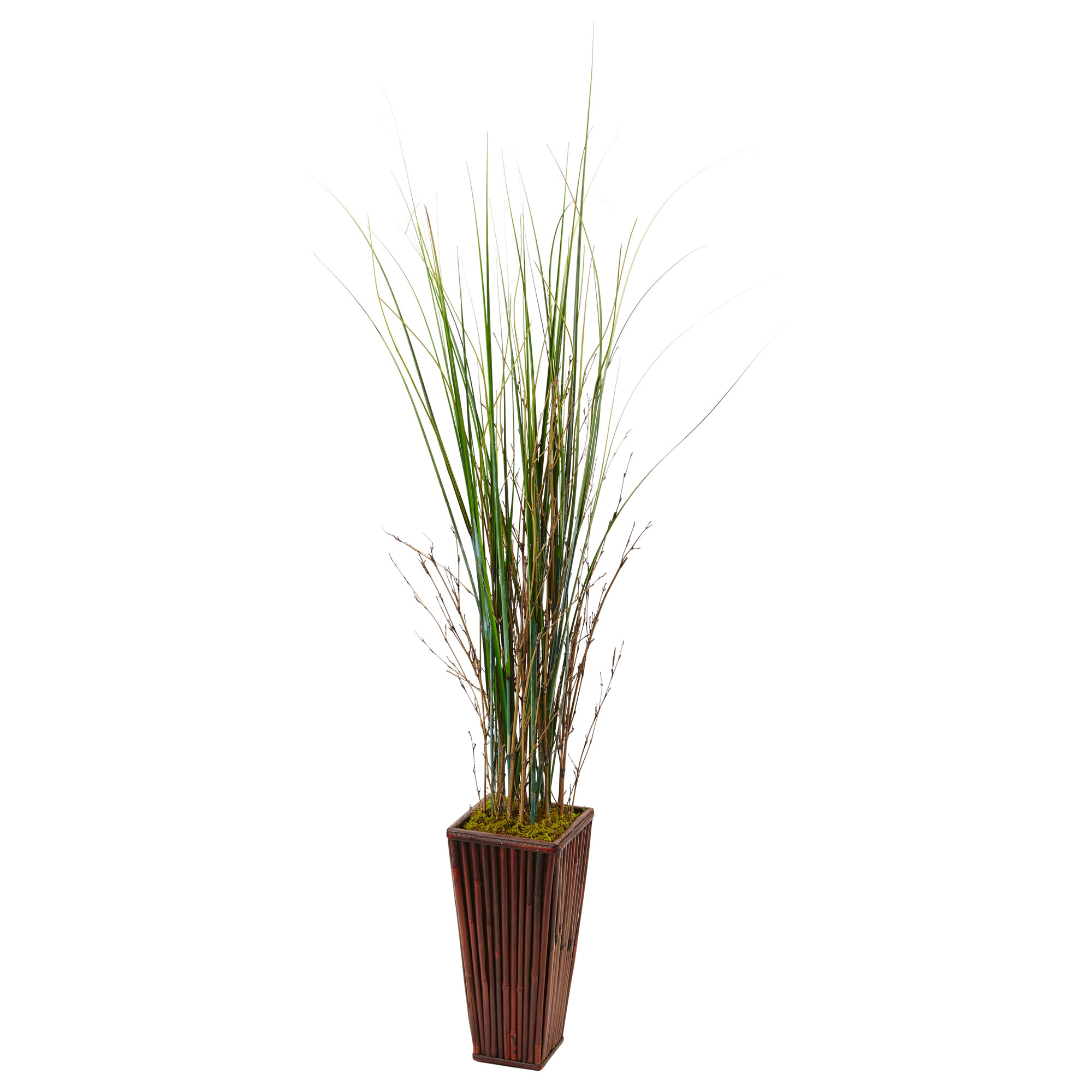 planter products fitzgerald plant sm design maple bamboo tronk copy with