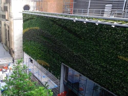 Interior Exterior Replica Green Walls Preserved Interiors