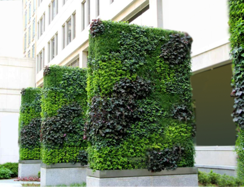 Exterior Custom Replica Green Wall